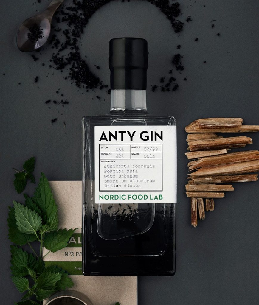 Innovative gin made from ants