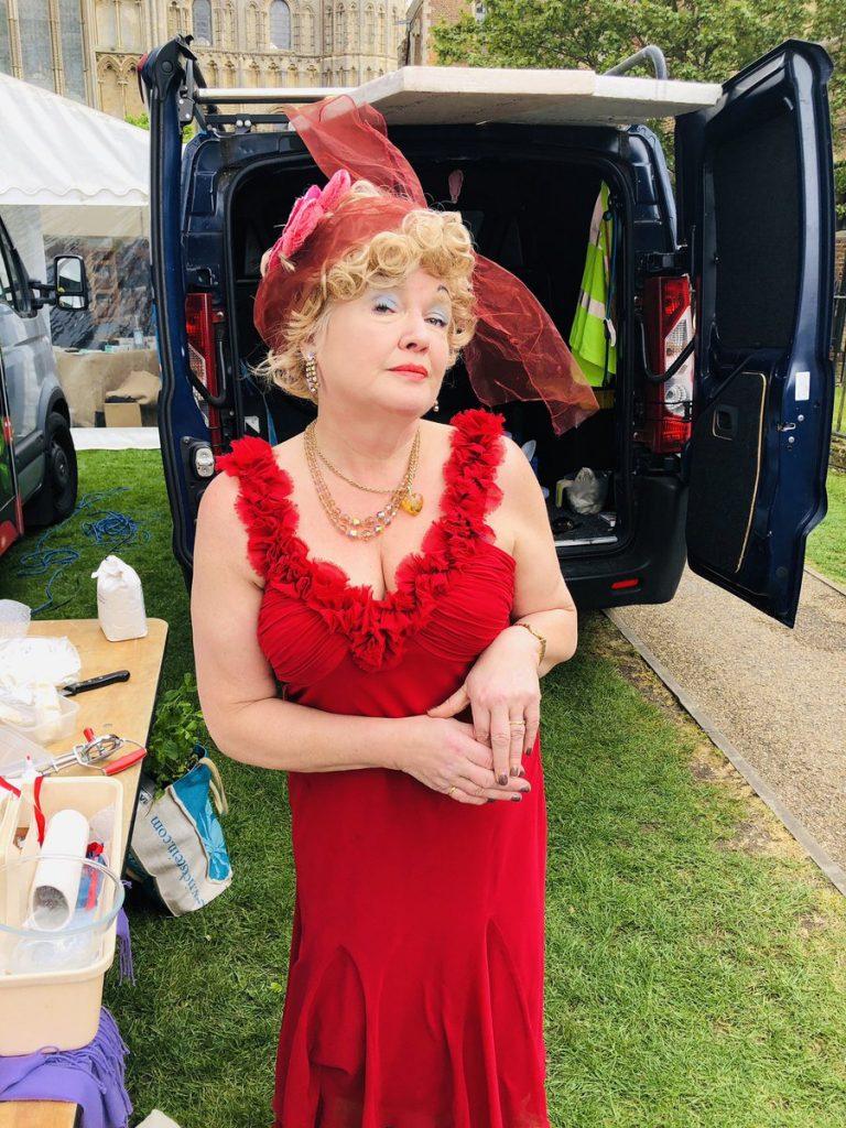 Fanny Cradock Ely Eel festival
