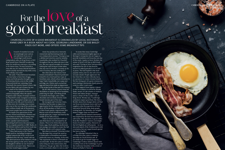 for the love of a good breakfast article